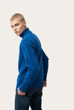 Load image into Gallery viewer, Arnar — Blue Knitted Sweater