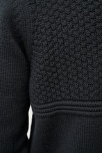 Load image into Gallery viewer, Ægir Merino Wool Sweater — Black