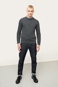 Ernir Merino Sweater — Dark Grey