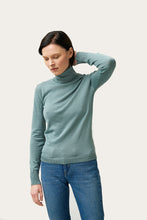 Load image into Gallery viewer, Eir Merino Wool Top — Cadet Blue
