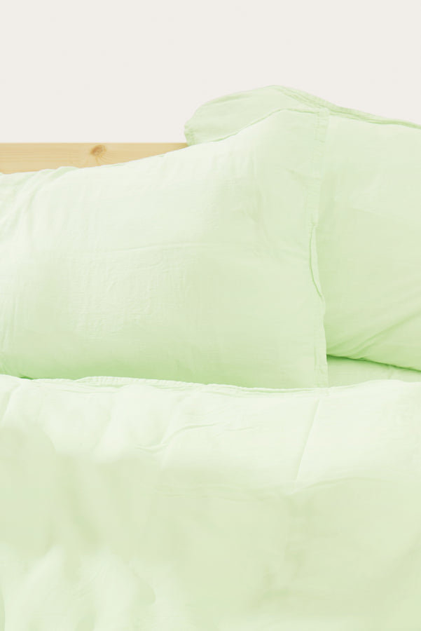 Load image into Gallery viewer, Nótt Pillow Cover — Pistachio