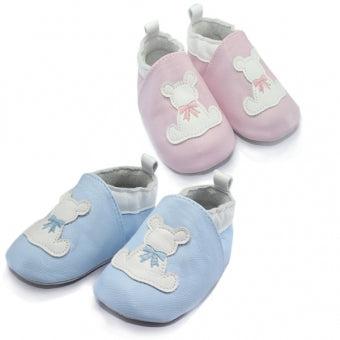 *Signature Baby Leather Shoes