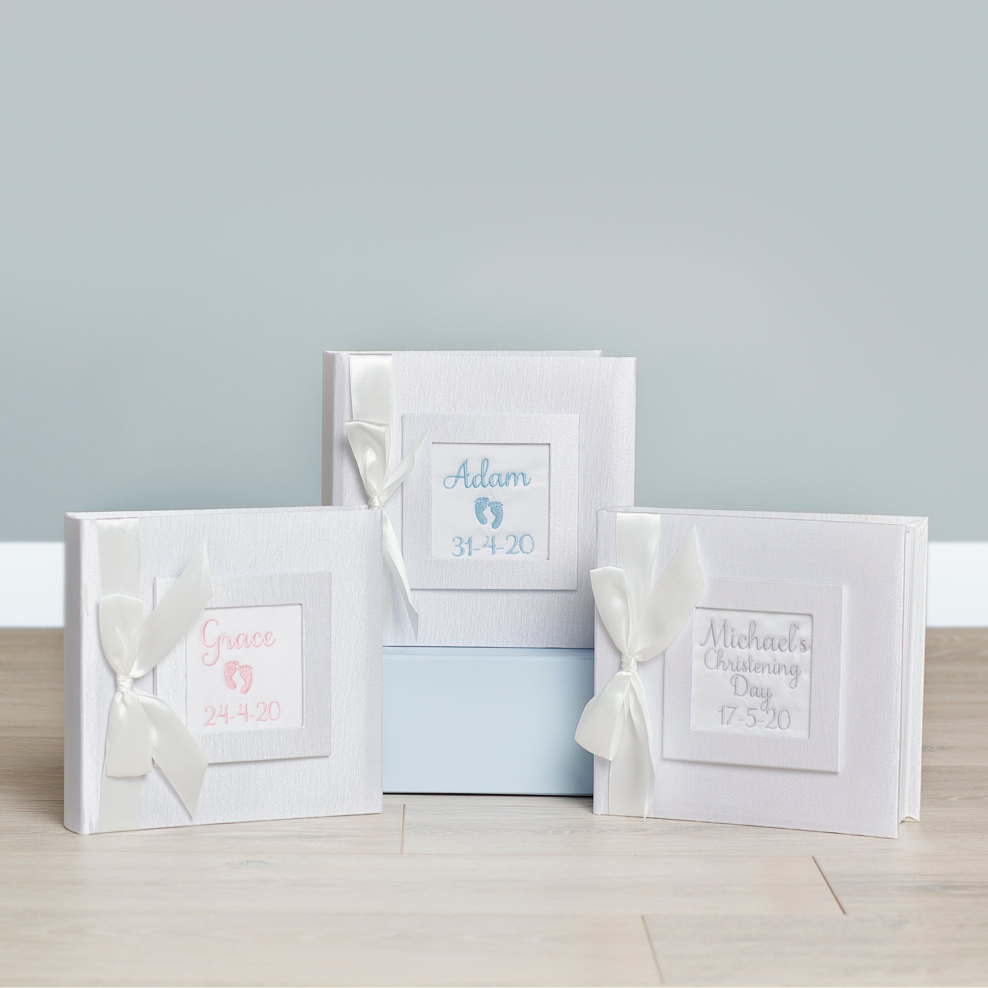 Birth Photo Album for Twins- Personalised