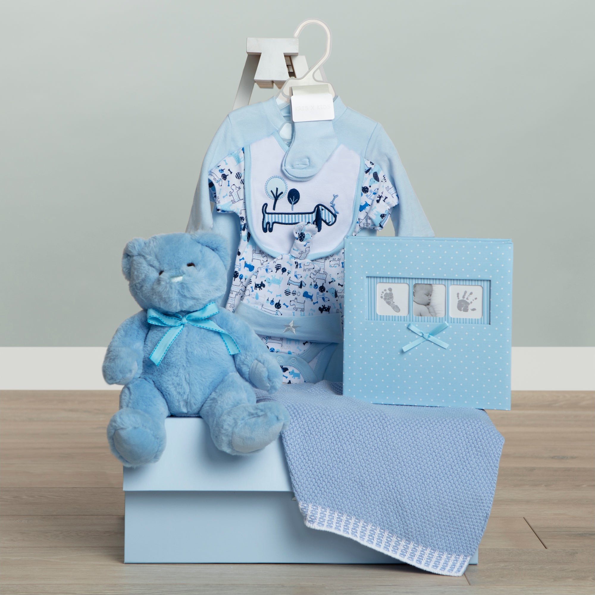 Celebration Baby Gift Hamper - Blue