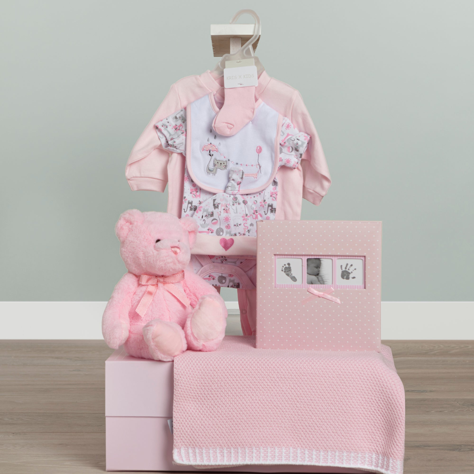 Celebration Baby Gift Hamper-Pink