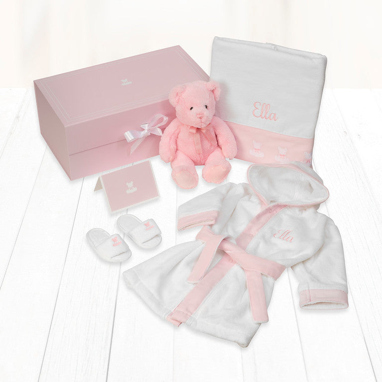 Baby Spa Personalised Gift Hamper - Pink