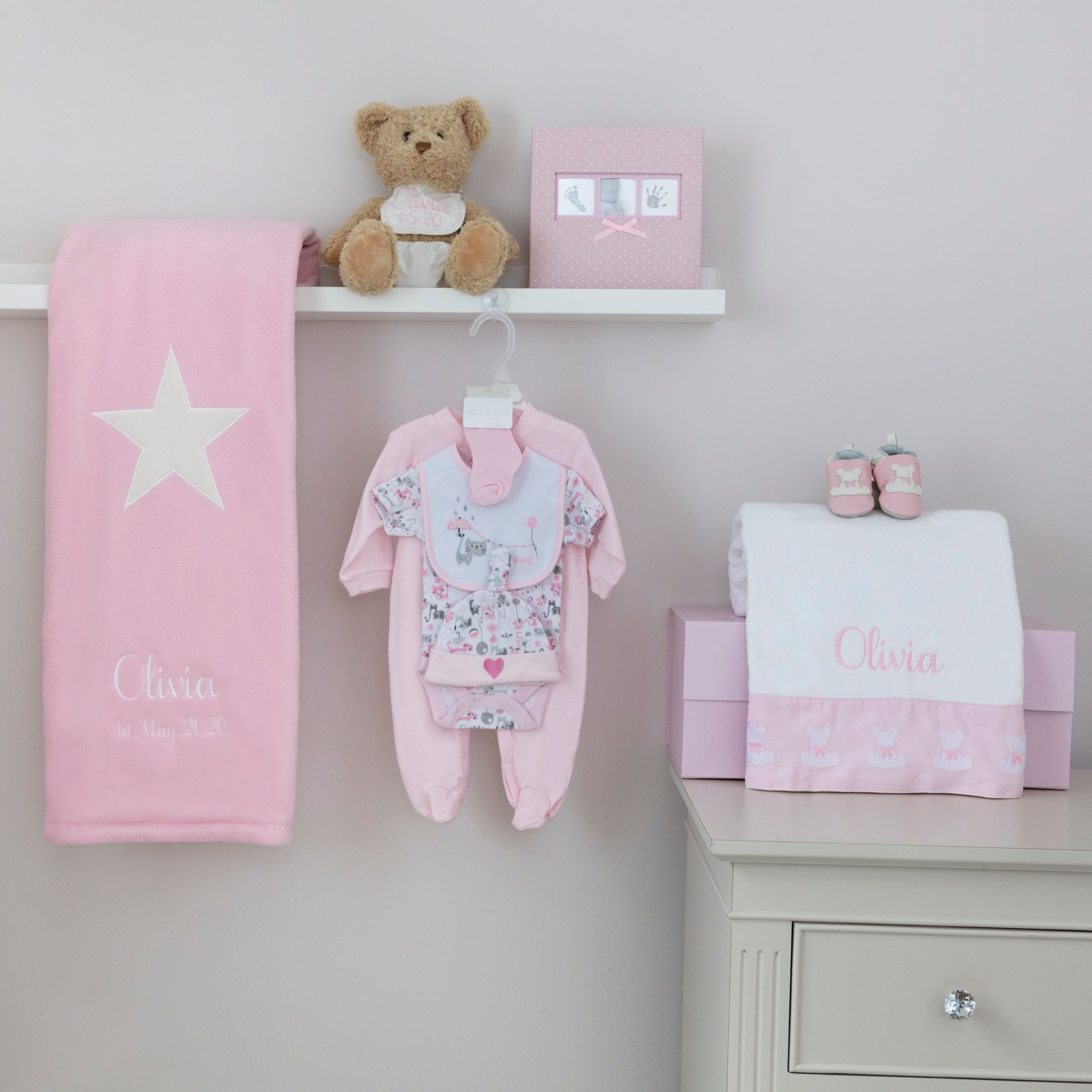 *Welcome Home Baby Hamper- Girl