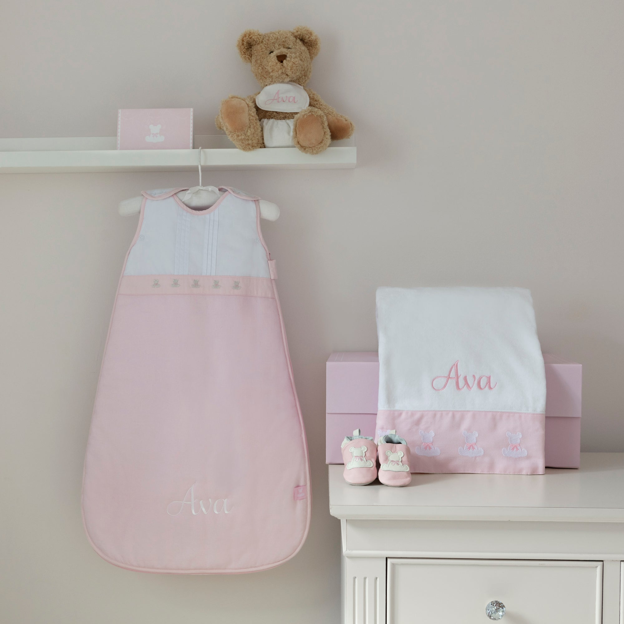 Beary Special Baby Hamper-Pink