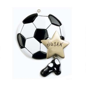 Soccer Ball Personalised Decoration