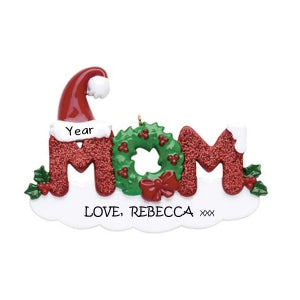 Mom personalised ornament