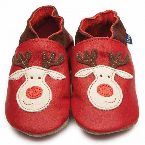 Baby Reindeer Soft Leather Shoes