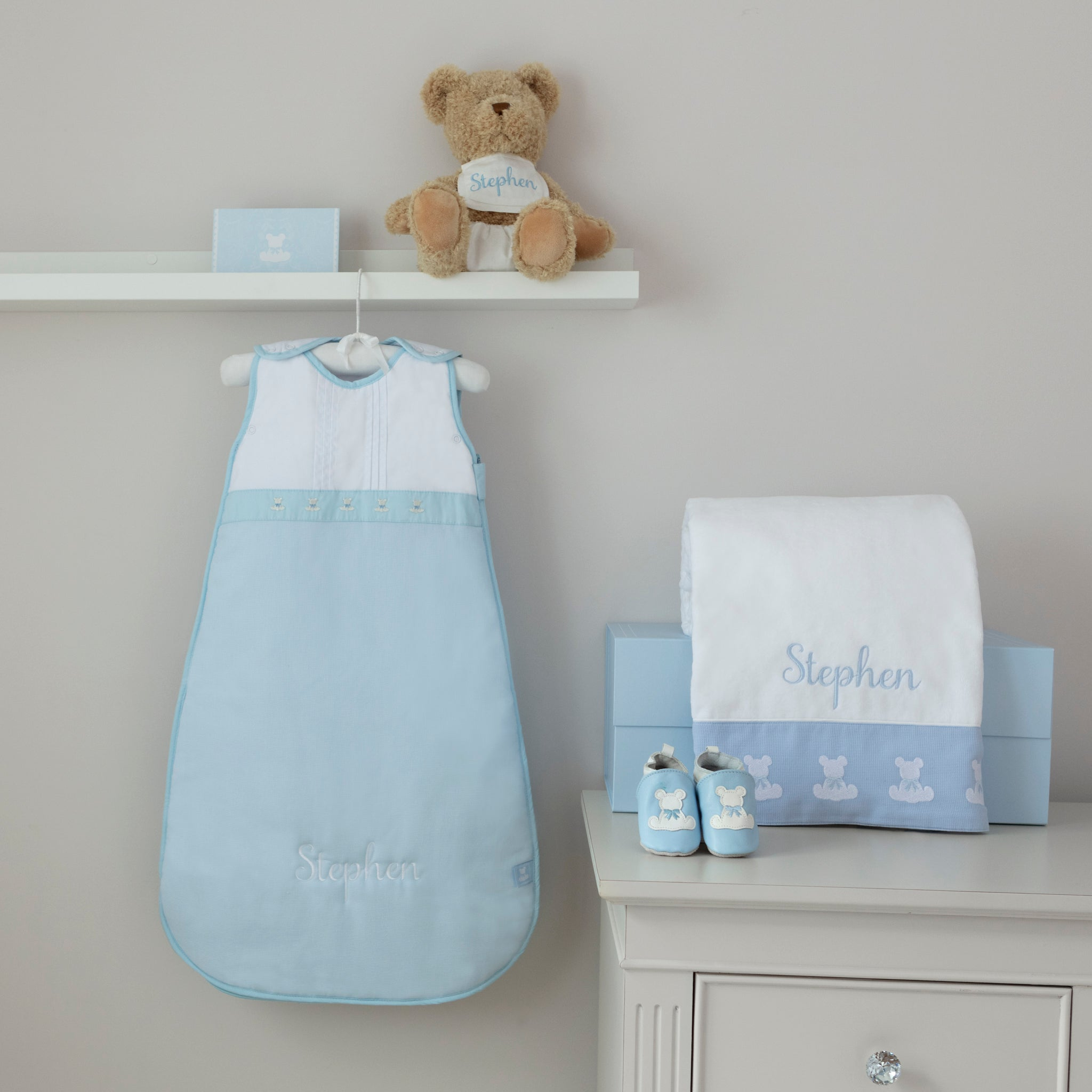 Beary Special Baby Hamper -Blue