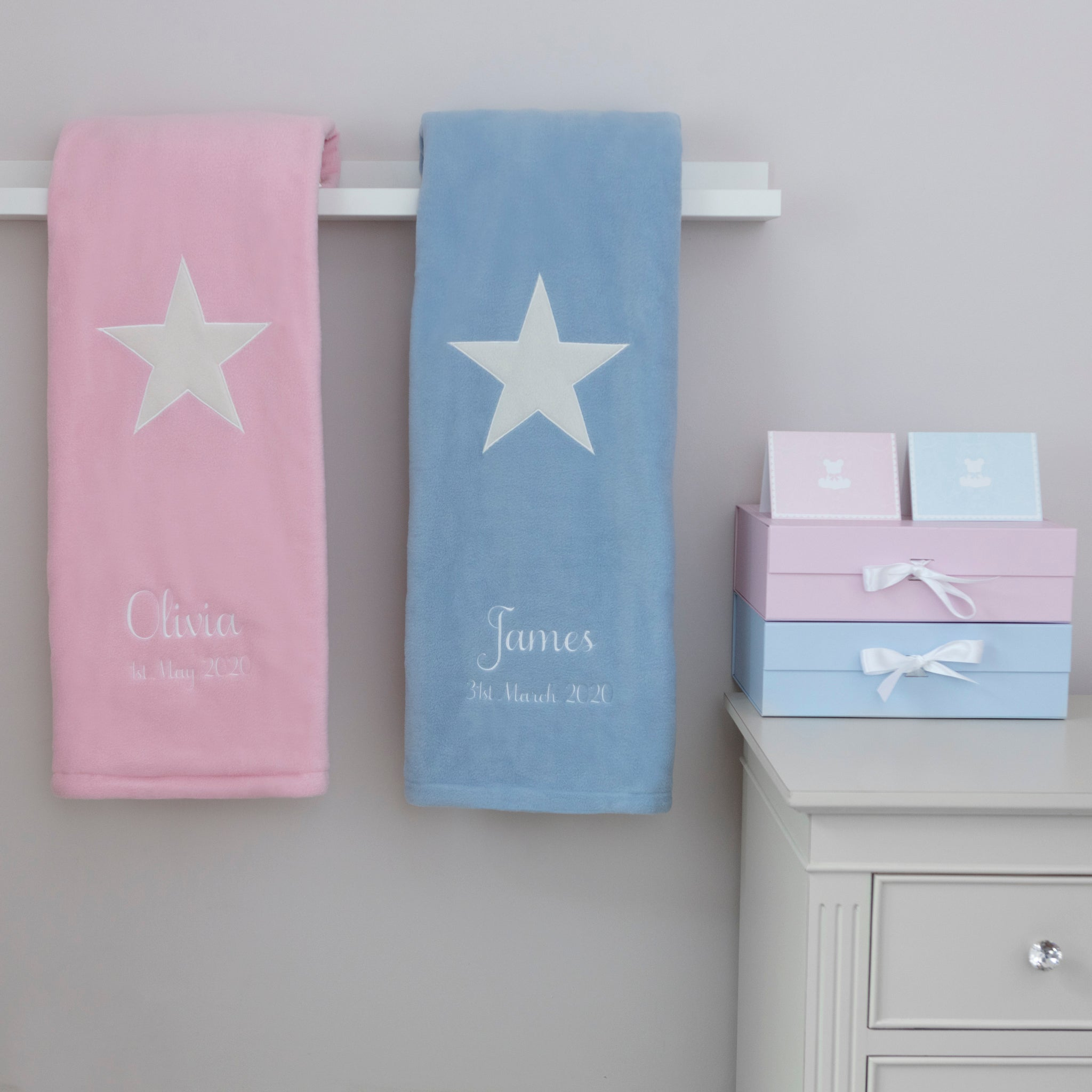 *Signature Star Quilts for Twins