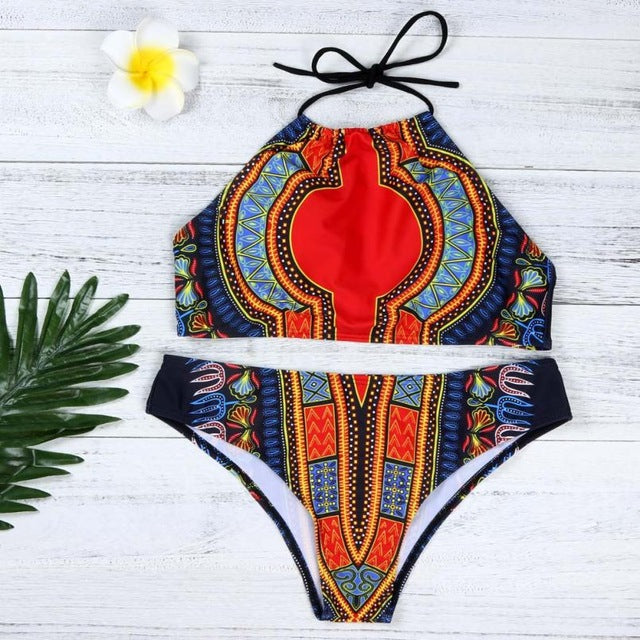 New Style - Dashiki African Printing Push-Up-Women's Clothing-Mylo-L-A-Trendy-JayBoutique