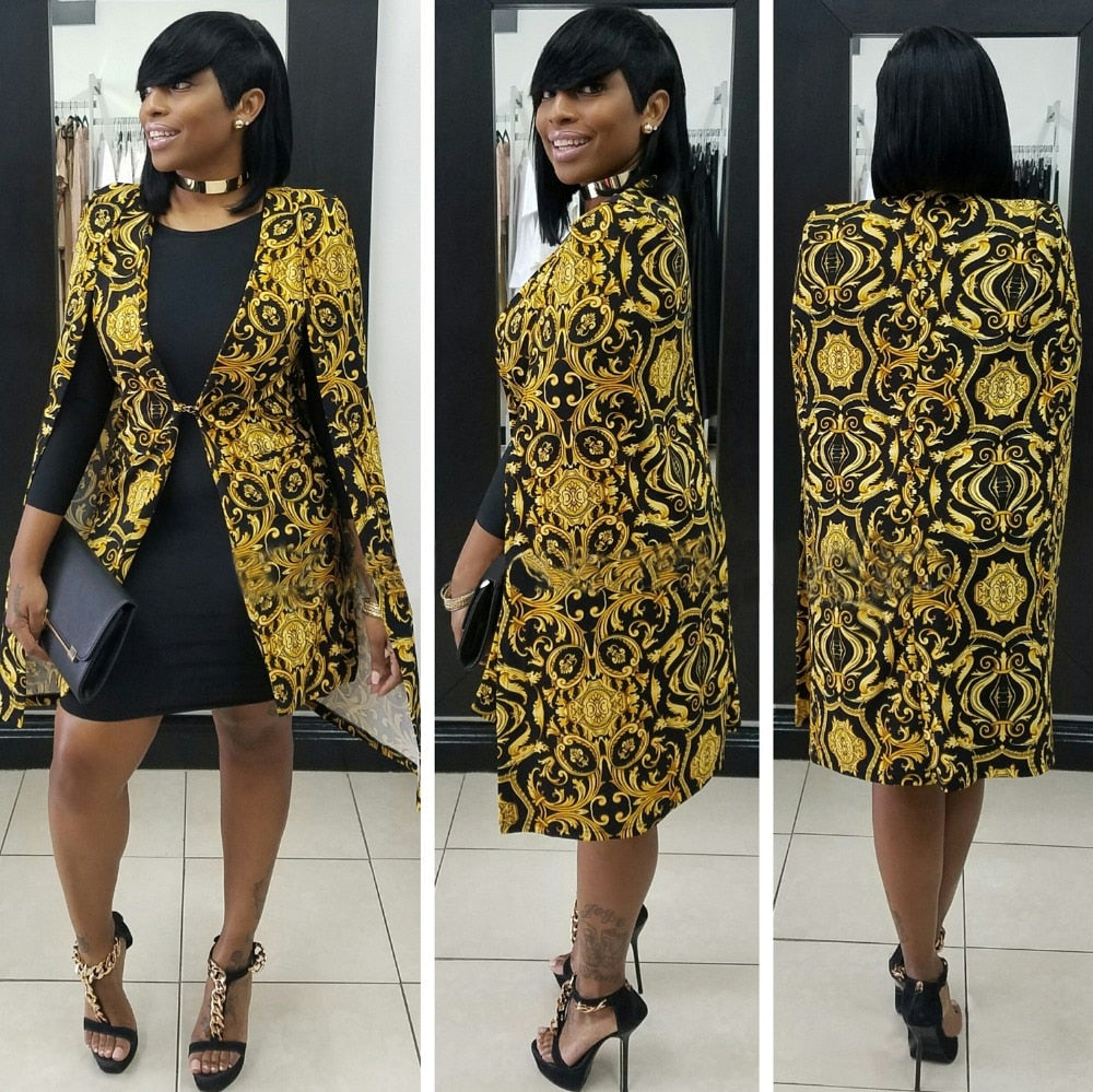 New Style 'Queen Sheeba' Blazer-Blazer-Trendy-JayBoutique-black-S-Trendy-JayBoutique