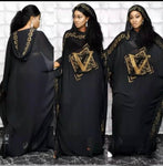 Chiffon Dashiki Maxi Robe Gown [Abaya]-robe-Trendy-JayBoutique-purple-One Size-Trendy-JayBoutique