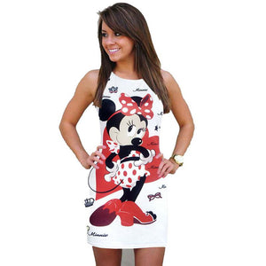 Cartoon Xter Printed Mini-Dress-Trendy-JayBoutique-01-L-Trendy-JayBoutique