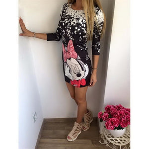 Cartoon Xter Printed Mini-Dress-Trendy-JayBoutique-07-S-Trendy-JayBoutique