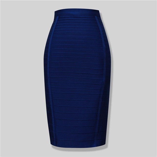 Brand New Sexy Bodycon Skirt-Skirt-Trendy-JayBoutique-Blue-XS-Trendy-JayBoutique