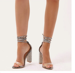 Crystal Heeled Platform Shoes-Sandal-Trendy-JayBoutique-Black-4-Trendy-JayBoutique