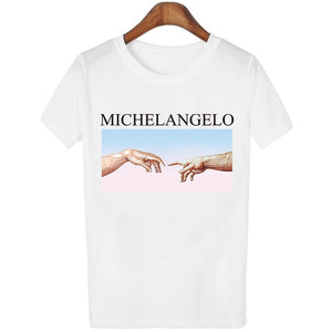 'David Michelangelo' Fun T-shirt-Tee-Trendy-JayBoutique-2-S-Trendy-JayBoutique