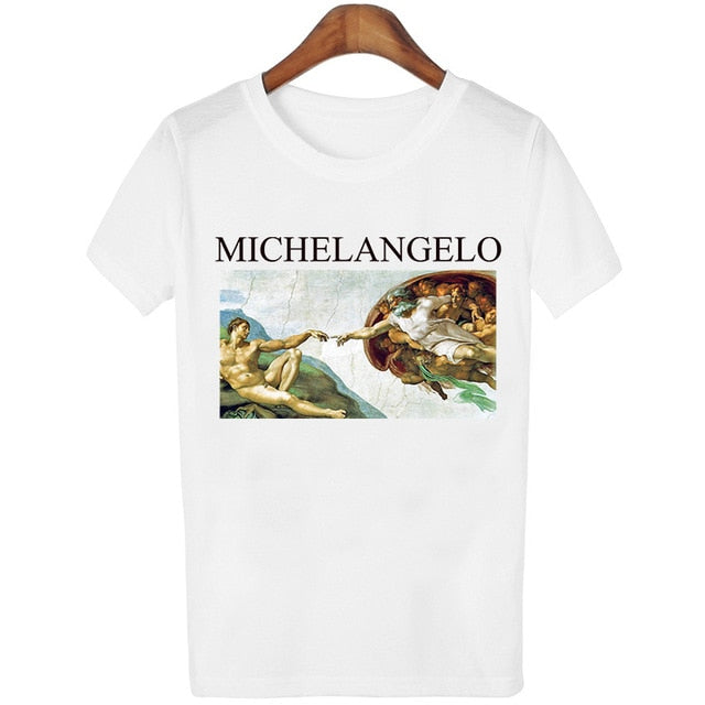 'David Michelangelo' Fun T-shirt-Tee-Trendy-JayBoutique-1-S-Trendy-JayBoutique