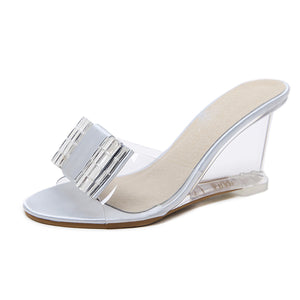 Women High Heels Party Platform Shoe-shoes-Trendy-JayBoutique-Silver-4-Trendy-JayBoutique