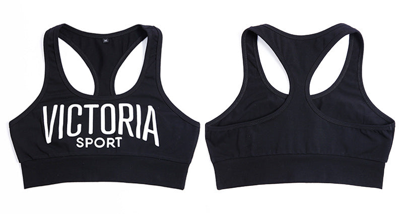 'Victoria' Workout Cropped Tank Top Vest-sports bra-Trendy-JayBoutique-WHITE-S-Trendy-JayBoutique