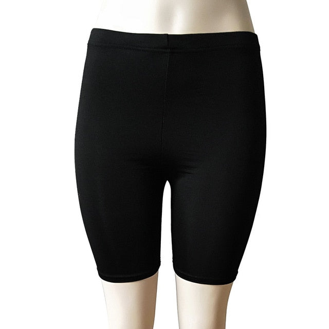 High Elasticity Short Leggings-Fitness Pants-Trendy-JayBoutique-Black-S-Trendy-JayBoutique