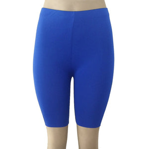 High Elasticity Short Leggings-Fitness Pants-Trendy-JayBoutique-Blue-S-Trendy-JayBoutique