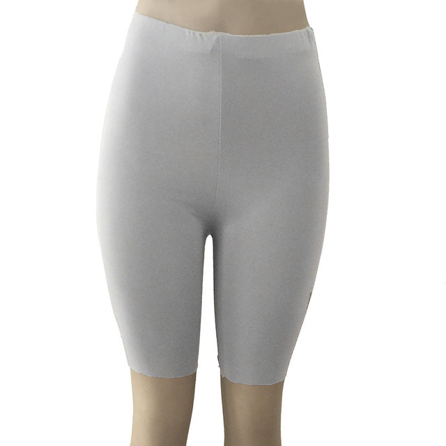 High Elasticity Short Leggings-Fitness Pants-Trendy-JayBoutique-Gray-S-Trendy-JayBoutique