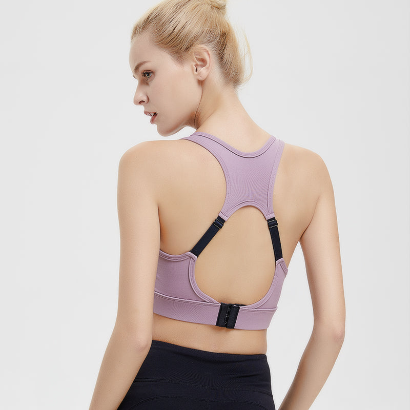 Anti-sagging Breathable Adjustable Sports Bra-sports bra-Trendy-JayBoutique-purple-XL-Trendy-JayBoutique