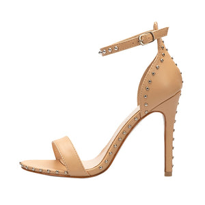 Rivet Peep-Toe Party Shoes-Sandals-Trendy-JayBoutique-Apricot-5-Trendy-JayBoutique
