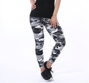 New Print Flower Leggings-Leggings-Trendy-JayBoutique-K208 Camouflage 7-One Size-Trendy-JayBoutique