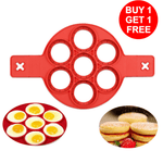 BUY 1 TAKE 1: Non-Stick Pancake Egg Ring Maker Silicone Mold