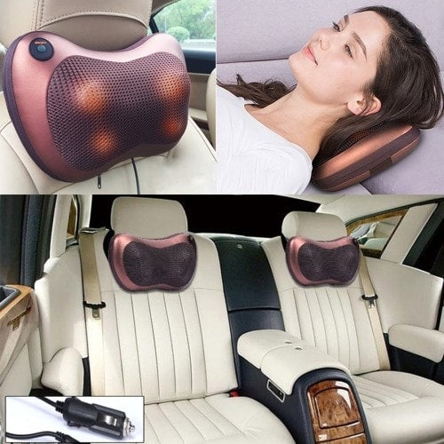 Portable Car and Home Massage Pillow