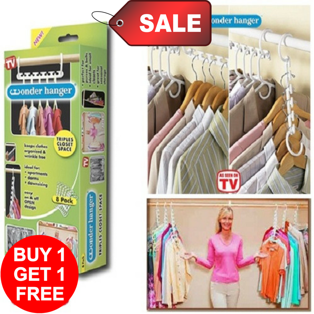BUY 1 TAKE 1: Space Saver Wonder Hanger (Pack of 8)