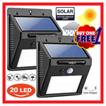 BUY 1 TAKE 1: 20 LED Waterproof Solar Powered Light