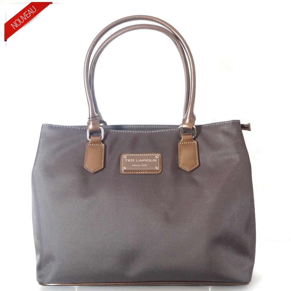 SAC SHOPPING TONIC  BY TED LAPIDUS, MARRON, Sac à Elle, Sac, BAGAGE, TED LAPIDUS JACQUES ESTEREL, STEVE MADDEN