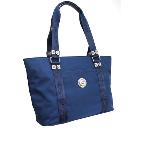 SAC SHOPPING ESTHER BY JACQUES ESTEREL, BLEU, Sac à Elle, Sac, BAGAGE, TED LAPIDUS JACQUES ESTEREL, STEVE MADDEN