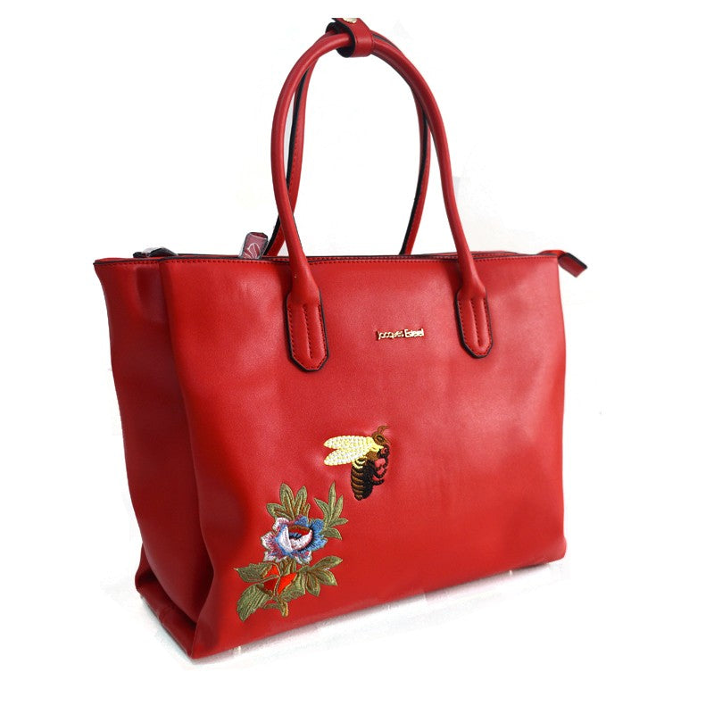 GRAND SAC SHOPPING SISCO by jacques esterel, rouge, Sac à Elle, Sac, BAGAGE, TED LAPIDUS JACQUES ESTEREL, STEVE MADDEN