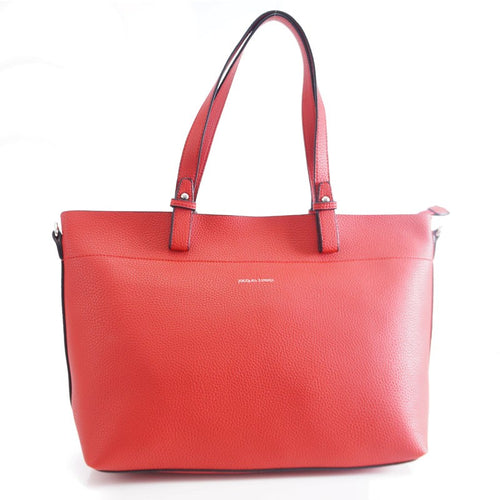 sac shopping cameron BY JACQUES ESTEREL, ROUGE, Sac à Elle, Sac, BAGAGE, TED LAPIDUS JACQUES ESTEREL, STEVE MADDEN