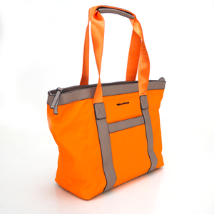 SAC CABAS RONDA II BY TED LAPIDUS, ORANGE / TAUPE, Sac à Elle, Sac, BAGAGE, TED LAPIDUS JACQUES ESTEREL, STEVE MADDEN