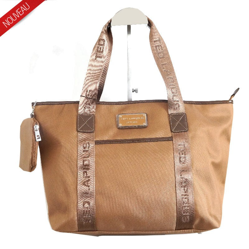 GRAND SAC SHOPPING TONIC BY TED LAPIDUS, CAMEL, Sac à Elle, Sac, BAGAGE, TED LAPIDUS JACQUES ESTEREL, STEVE MADDEN