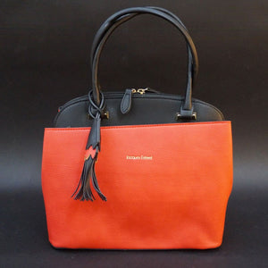 SAC PORTE MAIN PIVOINE BY JACQUES ESTEREL, ORANGE NOIR, Sac à Elle, Sac, BAGAGE, TED LAPIDUS JACQUES ESTEREL, STEVE MADDEN
