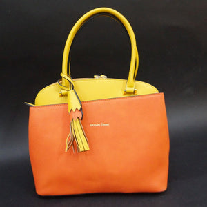 SAC PORTE MAIN PIVOINE BY JACQUES ESTEREL, ORANGE JAUNE, Sac à Elle, Sac, BAGAGE, TED LAPIDUS JACQUES ESTEREL, STEVE MADDEN