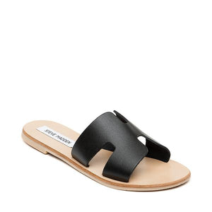 Grayson Slide BLACK LEATHER by STEVE MADDEN, 40, Sac à Elle, Sac, BAGAGE, TED LAPIDUS JACQUES ESTEREL, STEVE MADDEN