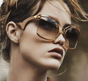 """Goldie"" Luxury Oversized Sunglasses - Glitzies Accessories"