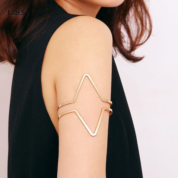 """Cadence"" Bohemian Arm Bracelet - Glitzies Accessories"