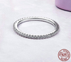 """Stallone"" 100% 925 Sterling Silver Simple Stackable Band - Glitzies Accessories"